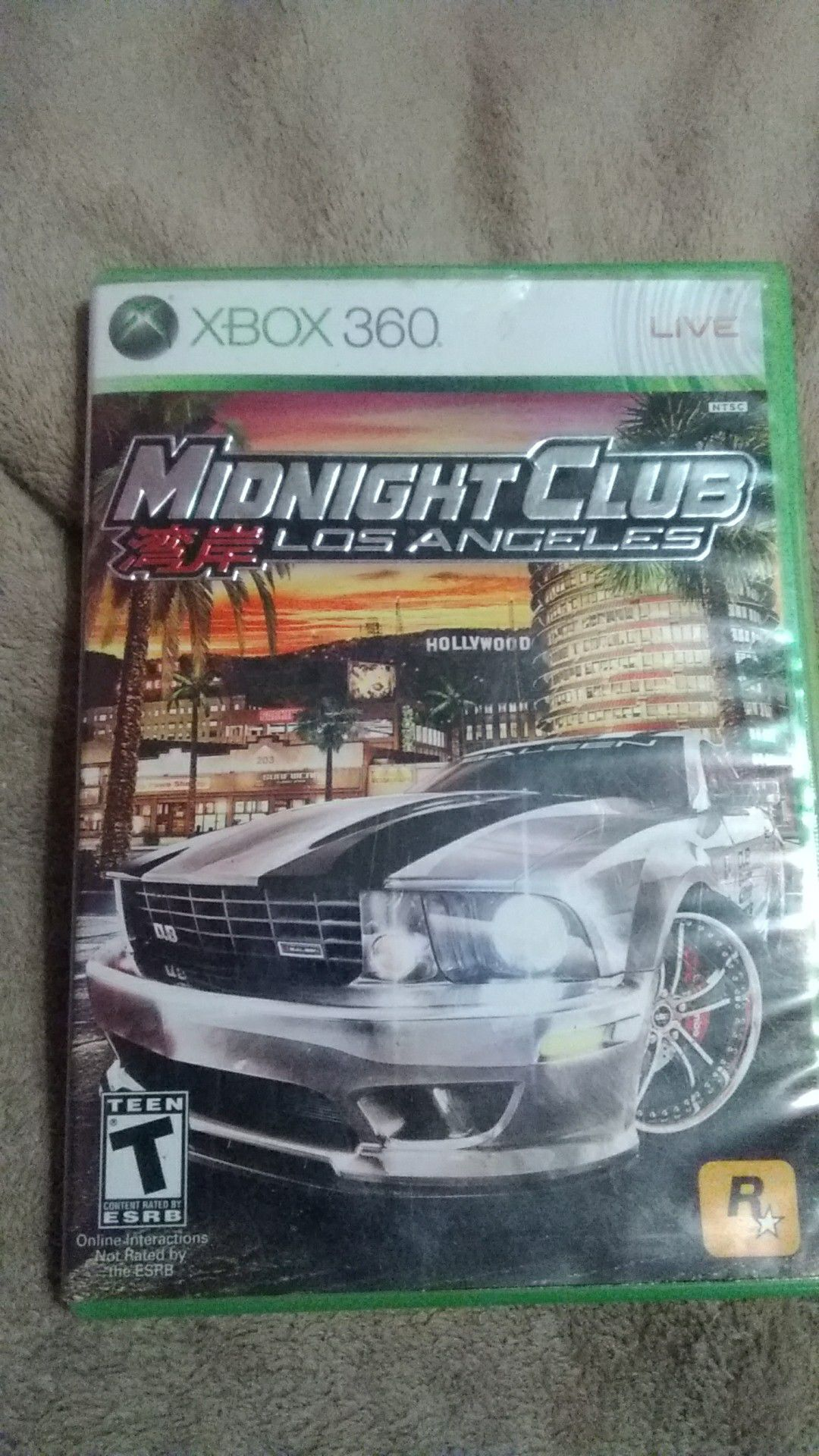 Photo Midnight club never used good condition as well