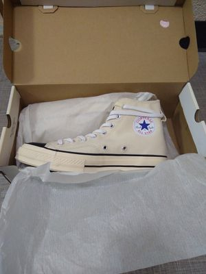 LIMITED Fear of God Essentials X Converse Chuck 70 Hightop Natural PACSUN Exclusive Men's size 9 for Sale in Fairfax, VA