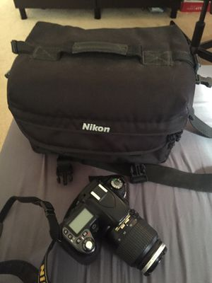 Nikon D80 bundle with two lenses and case for Sale in Irvine, CA