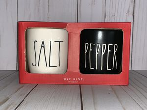 Rae Dunn Salt & Pepper Cellars for Sale in Loxahatchee, FL