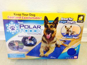 Polar Pooch Self Cooling Mat For Any Size Dog for Sale in Kissimmee, FL