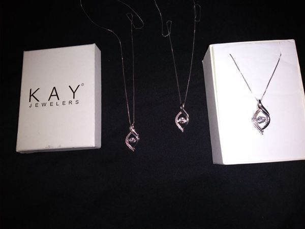 2d33fe453 Kay .925 blinged out motion necklace for Sale in Virginia Beach, VA ...