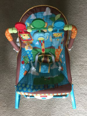 Fisher-Price Infant-to-Toddler Rocker, Jungle Fun for Sale in Rockville, MD