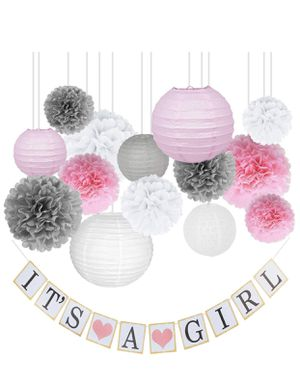 Brand new Baby Shower Decorations for Girl (pick up only) for Sale in Franconia, VA