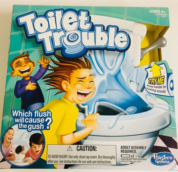 Hasbro Toilet Trouble Game New In Package For Sale In Redding Ca