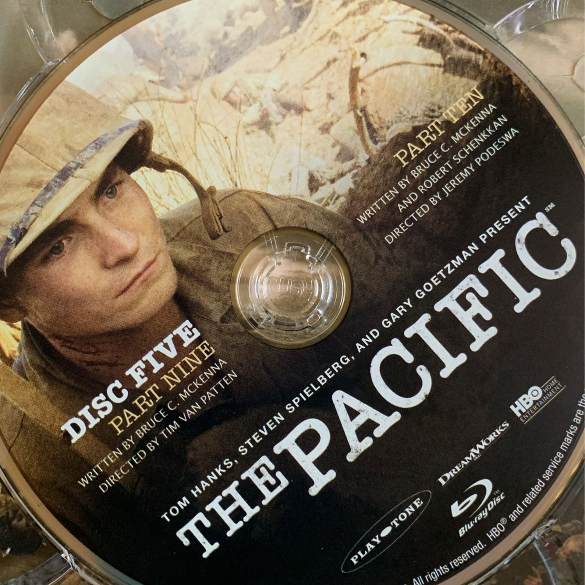 The Pacific Blu-ray 6 Discs