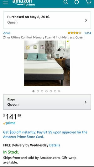 Bed and mattress for Sale in Denver, CO