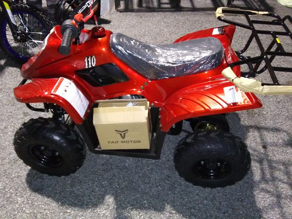 2020 tao motors 110cc atv quad 4 wheeler