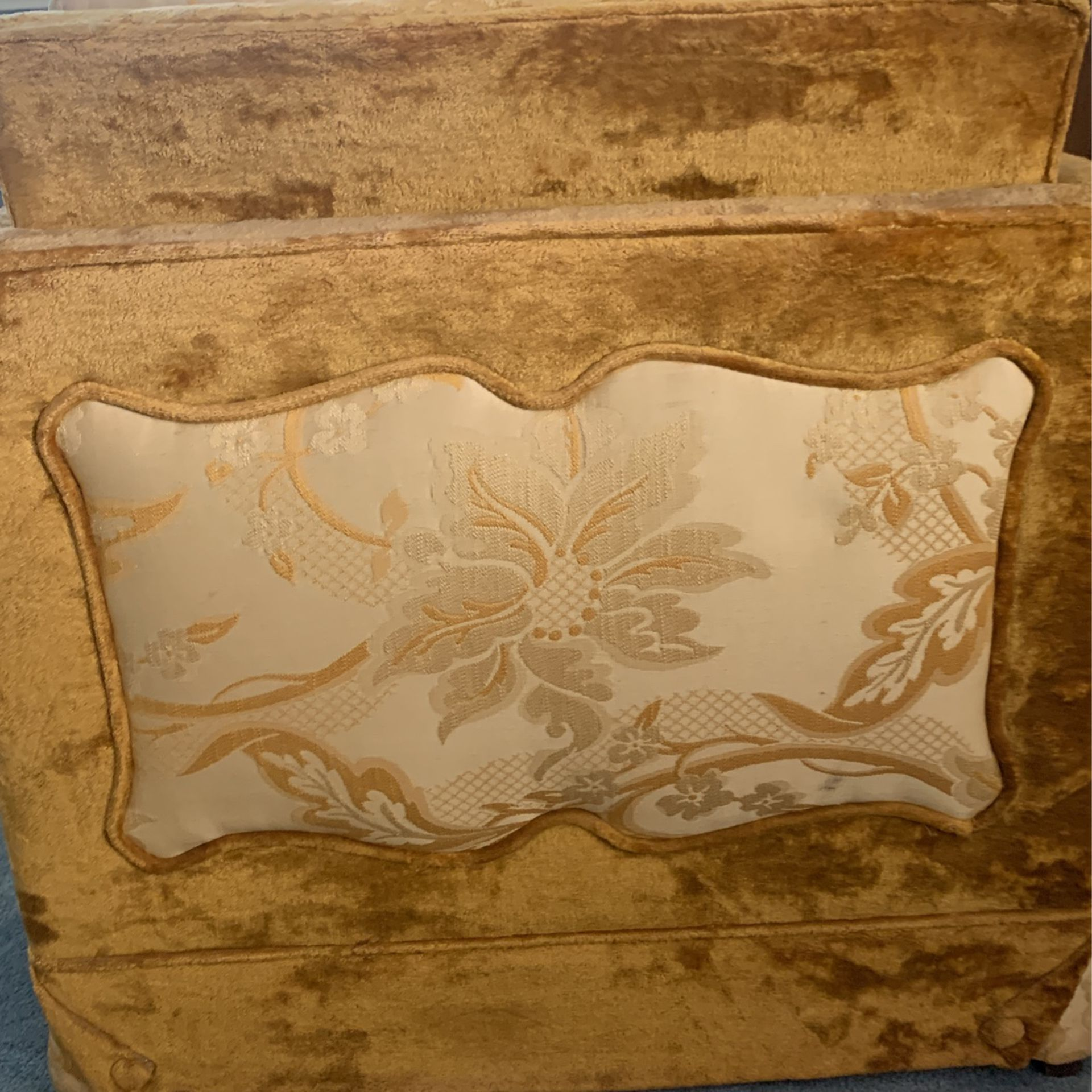 Low Back Arm Chair