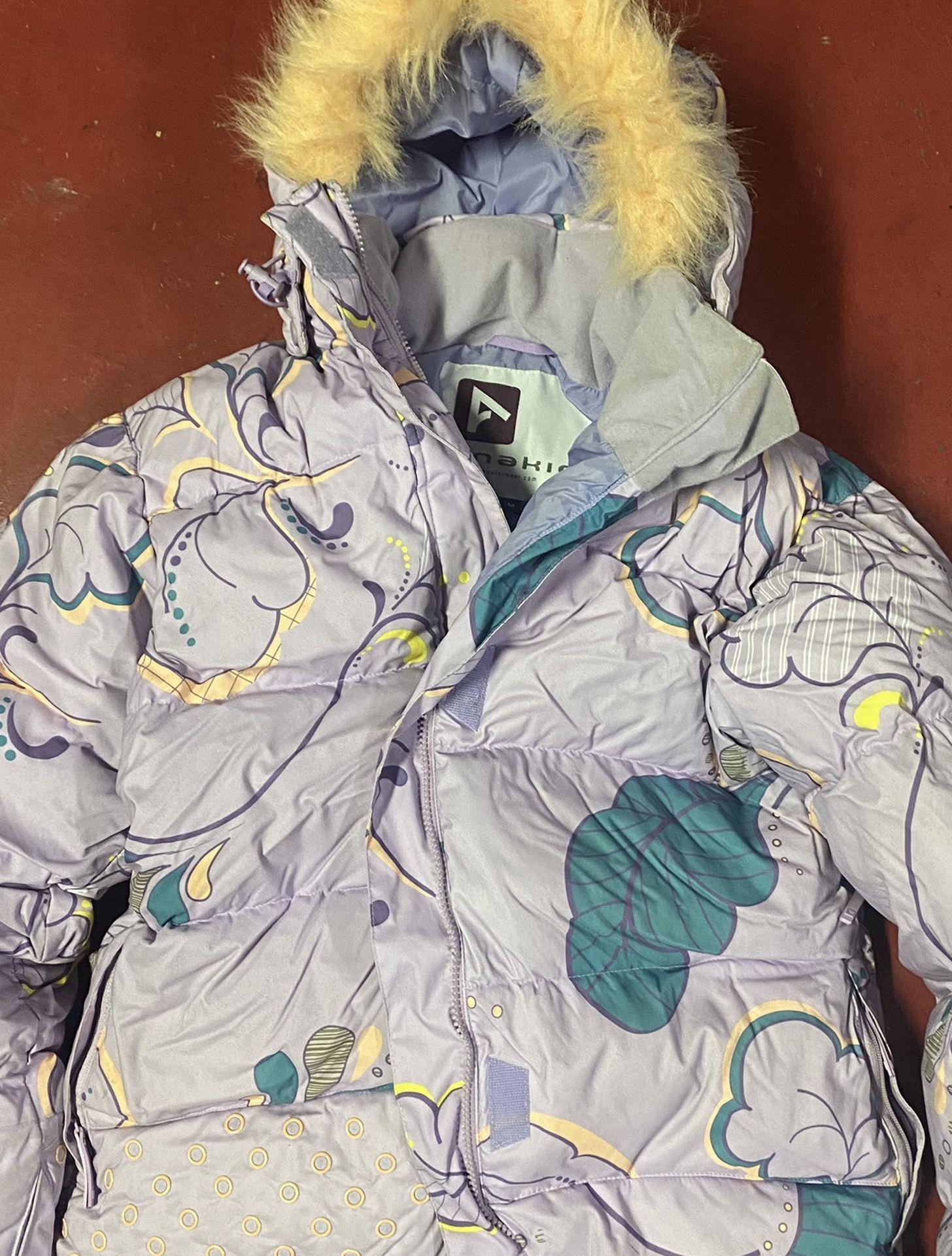 Women snowboarding jacket medium