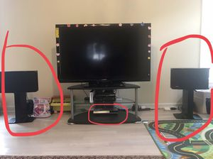 Bose 901 Powered speaker system w/ self amp stand for Sale in Germantown, MD