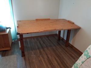 Loft bed, drafting table, blueprint table, kids fort, pallet furniture for Sale in Rancho Palos Verdes, CA