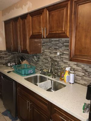 Boynton Beach Fl The Kitchen And Cabinet For 10x10 Real Wood Maple Door 3