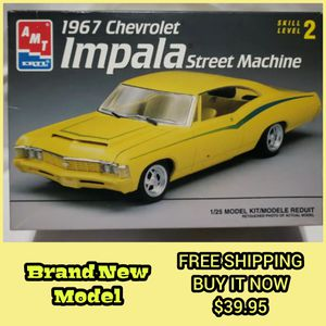 Photo BRAND NEW 1967 Chevy Impala ERTL/AMT 1:25 Scale Model ( LAST ONE ) not sealed