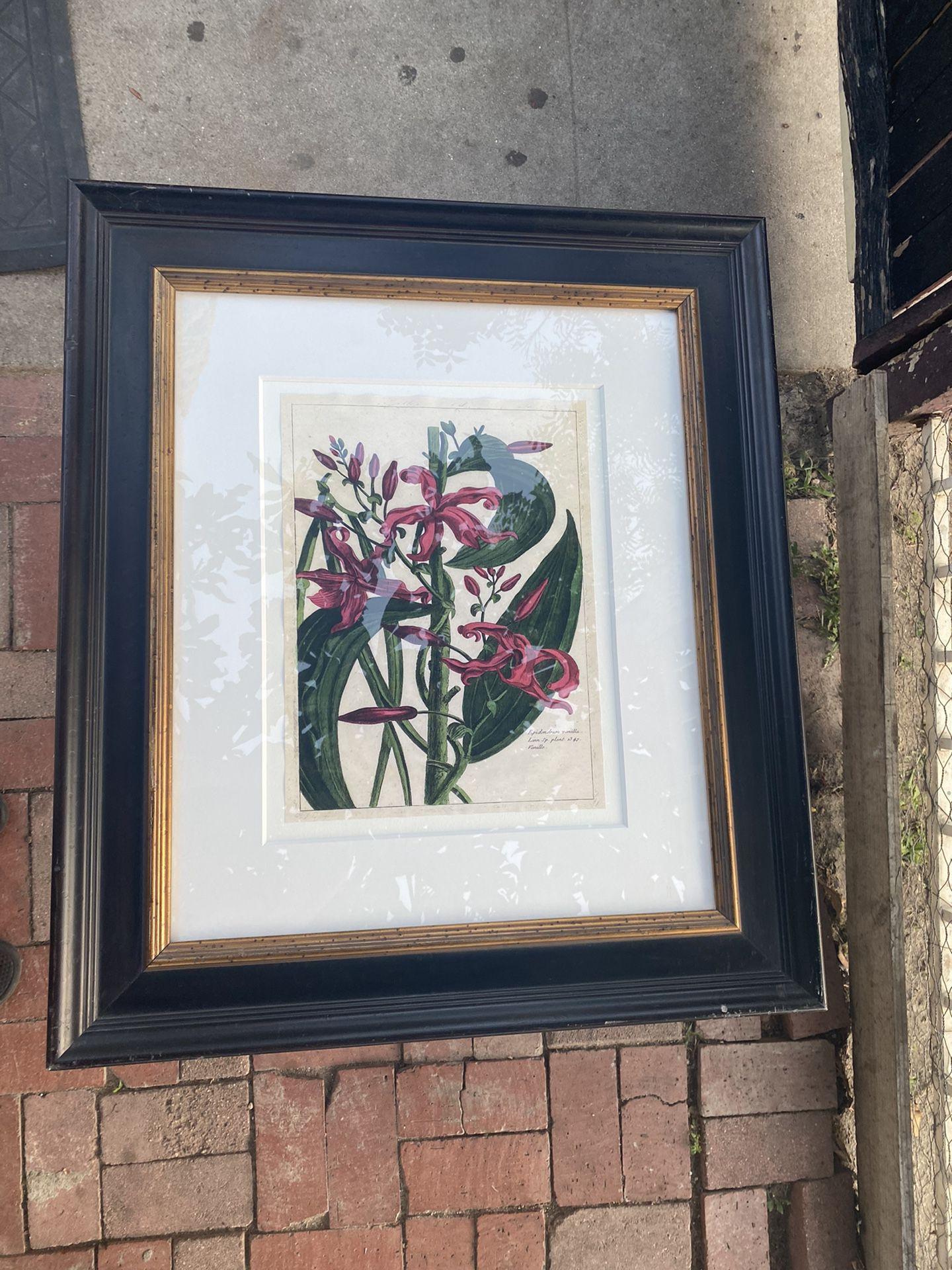 Fleur Mde Rouge III , The Raschella Collection