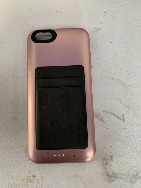 low priced 357dd f8eeb Mophie Battery Pack IPhone 6S Plus w/ card holder for Sale in San Fernando,  CA - OfferUp