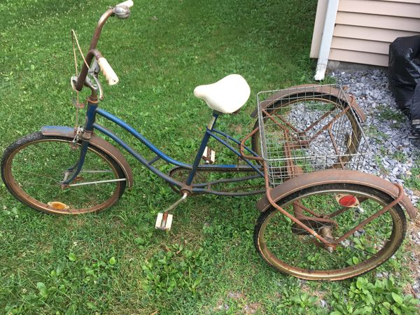 Image result for VINTAGE ADULT TRICYCLE