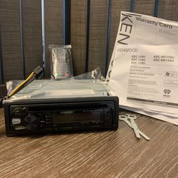 Kenwood CD receiver with USB Interface Thumbnail