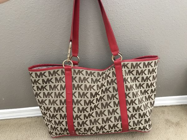 c870e7fe9485 Michael Kors large canvas tote bag for Sale in Bothell, WA - OfferUp