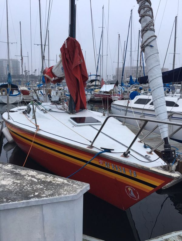30 ft STONER sail yacht year 75 for Sale in Marina del Rey, CA - OfferUp