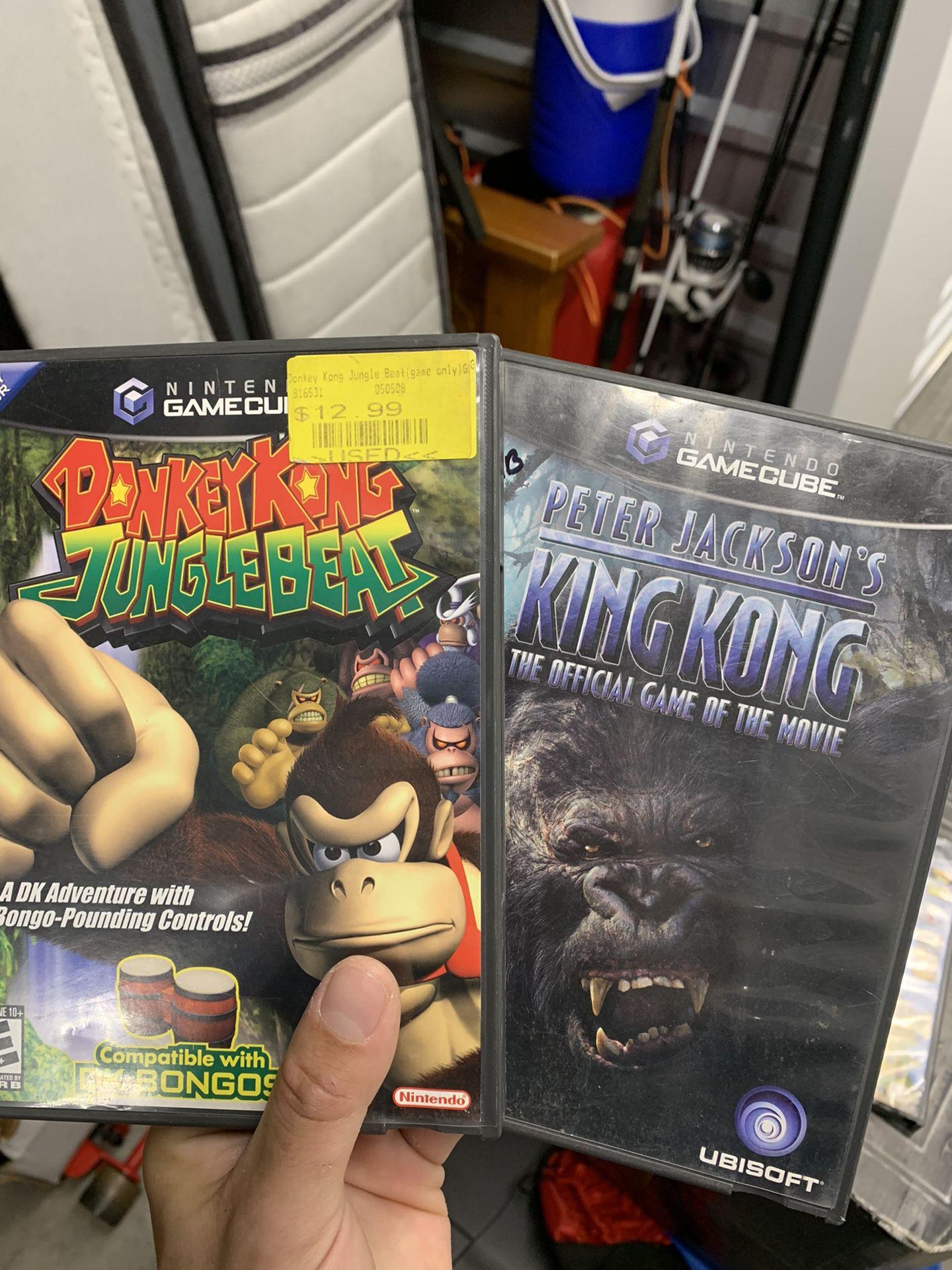 Donkey Kong King Kong gamecube games