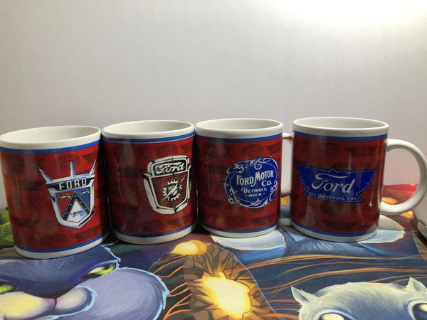 f49fbe54fdf Vintage Retro Ford Coffee Mug x4 Lot of 4 for Sale in Lincoln, CA ...