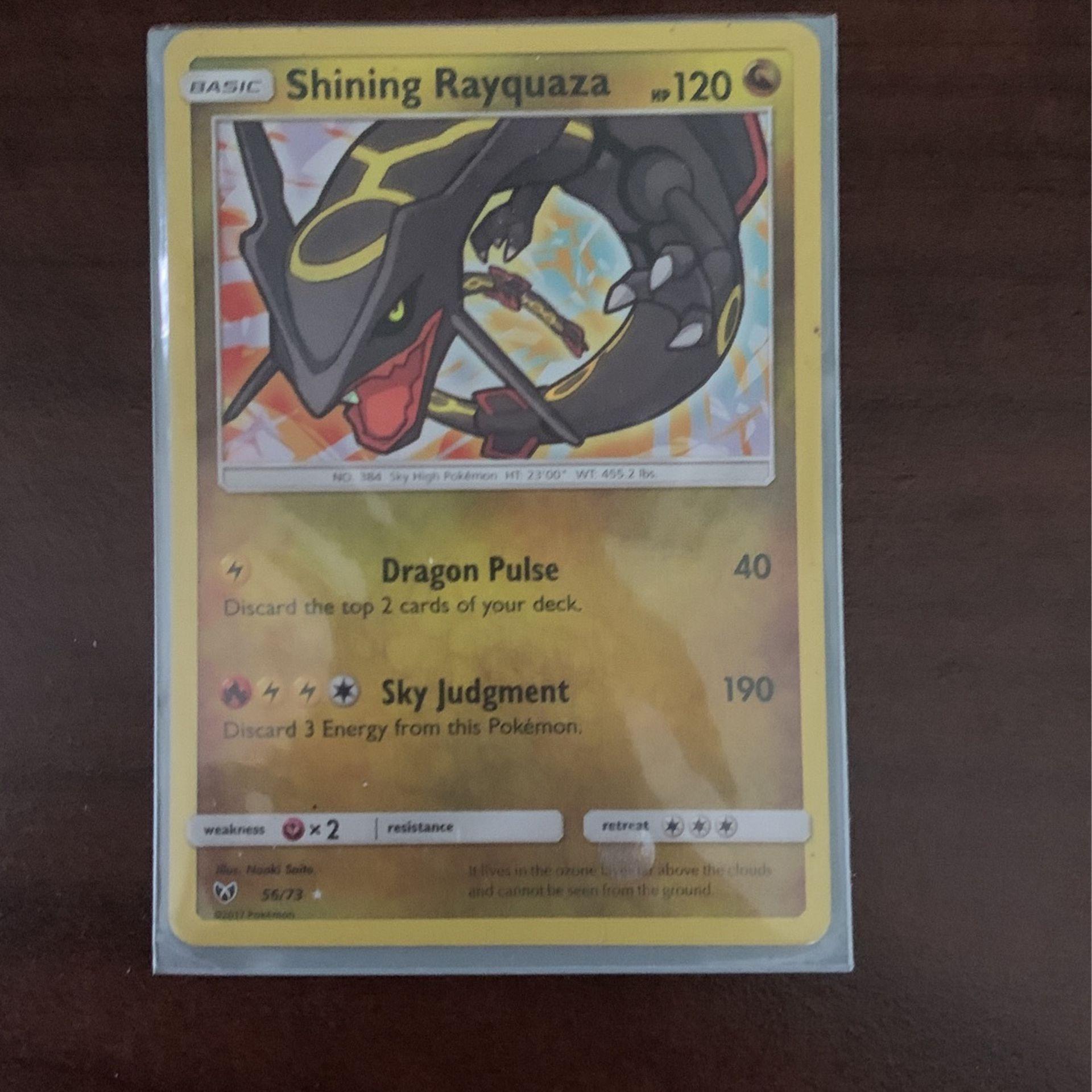 Shining Rayqauza