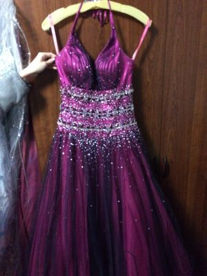 Pink and purple prom dress for Sale in Pittsburgh, PA