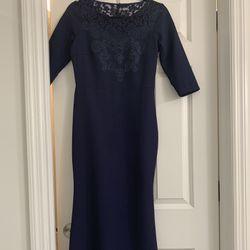 Size Small, Dark Blue Dress Thumbnail