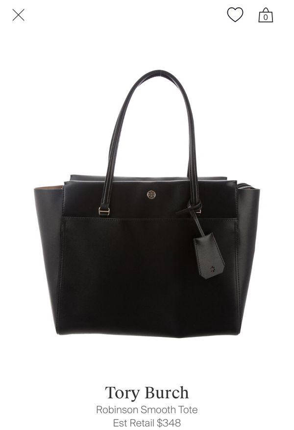 0210102e27a9 Tory Burch Robinson smooth tote for Sale in Pacifica