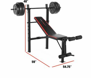 Photo Bench Press Combo weight set