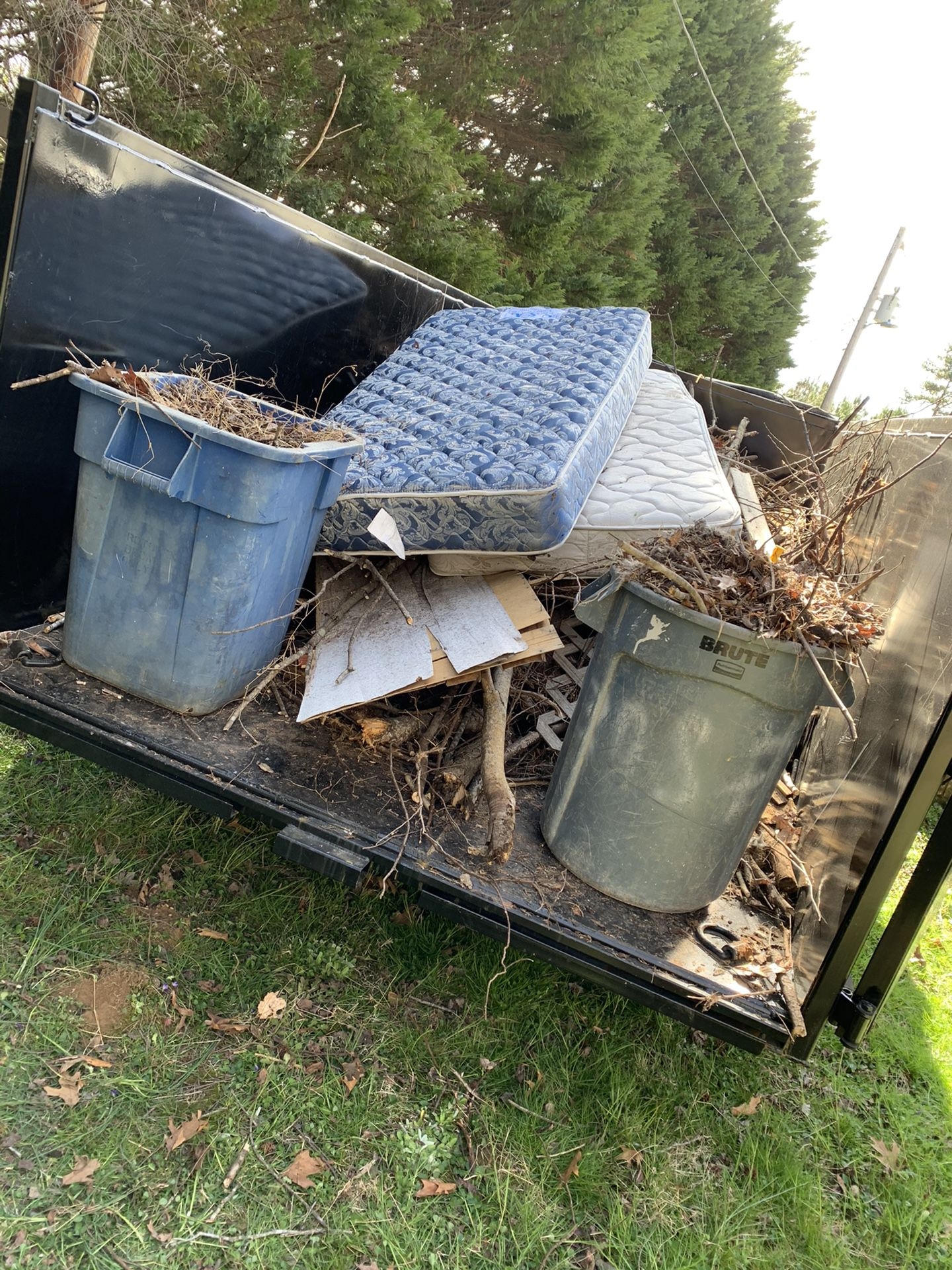 Hauling/Junk removal