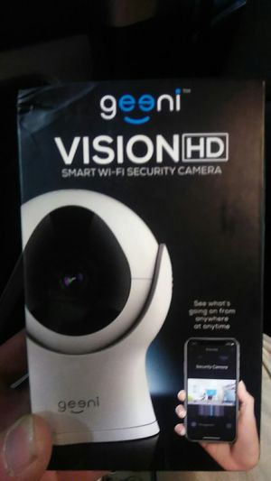 Geeni Smart Wi-Fi Security Camera for Sale in Denver, CO