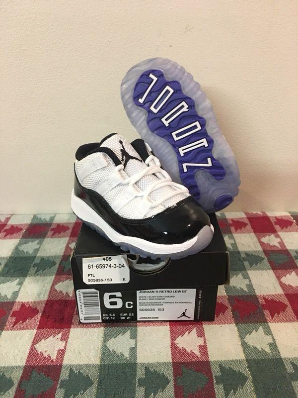 9b89588b6298 NEW Nike Air Jordan Retro 11 Low Concord Size 6c Baby