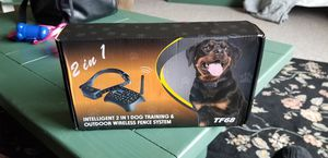 Photo 2 in 1 dog training and wireless fence
