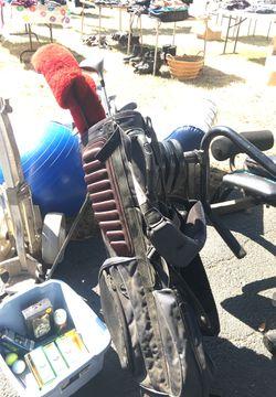 Wilson golf clubs with bag Thumbnail