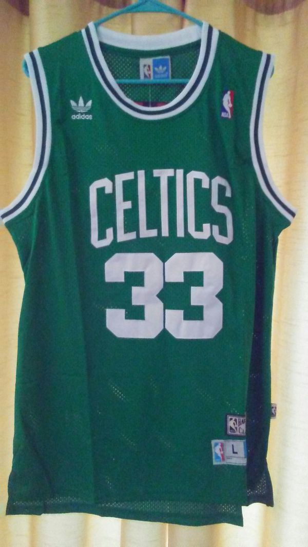 pretty nice 9bb43 d1ab1 Authentic Boston Celtics (Away) Larry Bird Jersey size L $60 for Sale in  Cedar Hill, TX - OfferUp