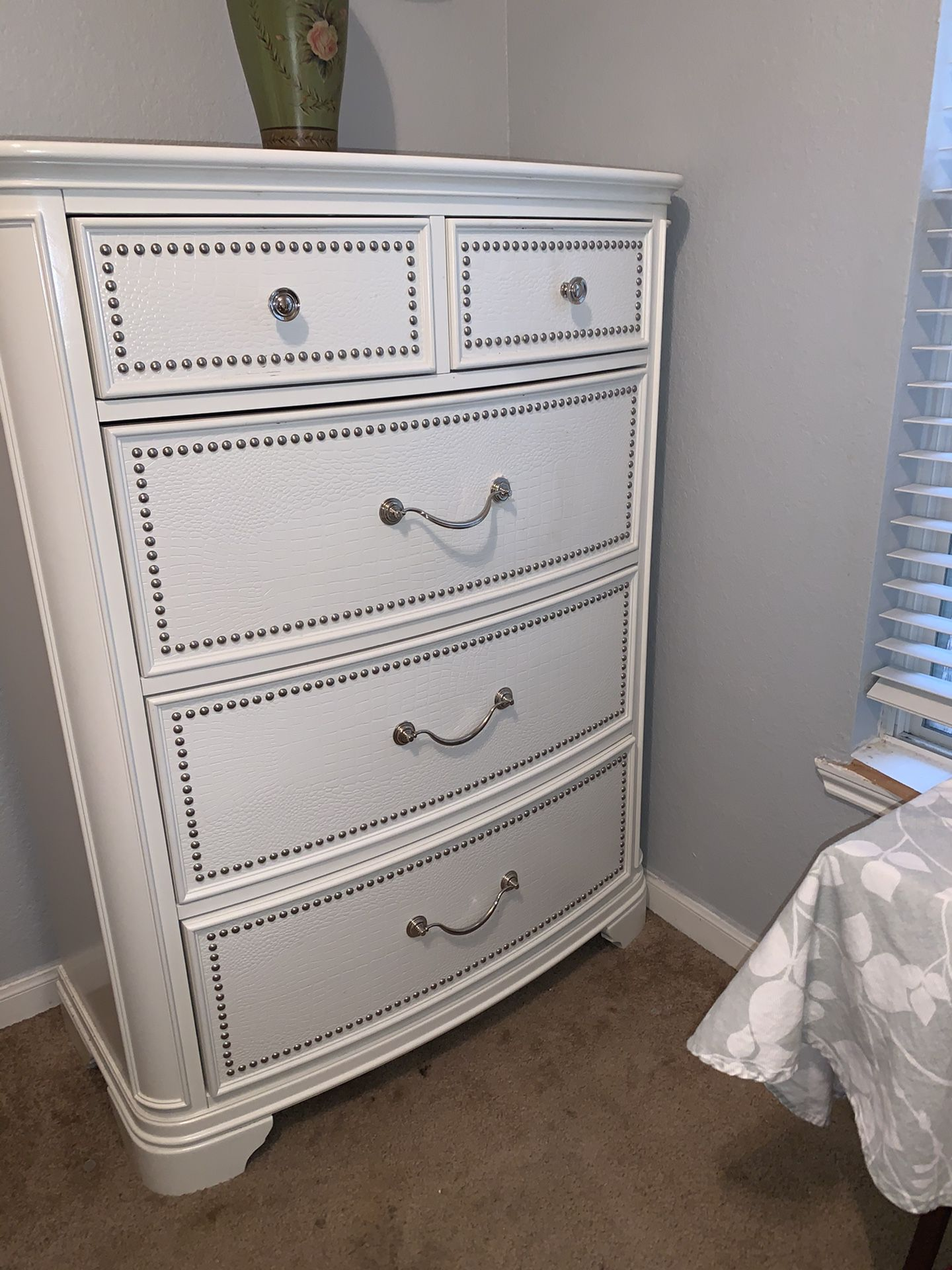 Daybed & Tall Dresser