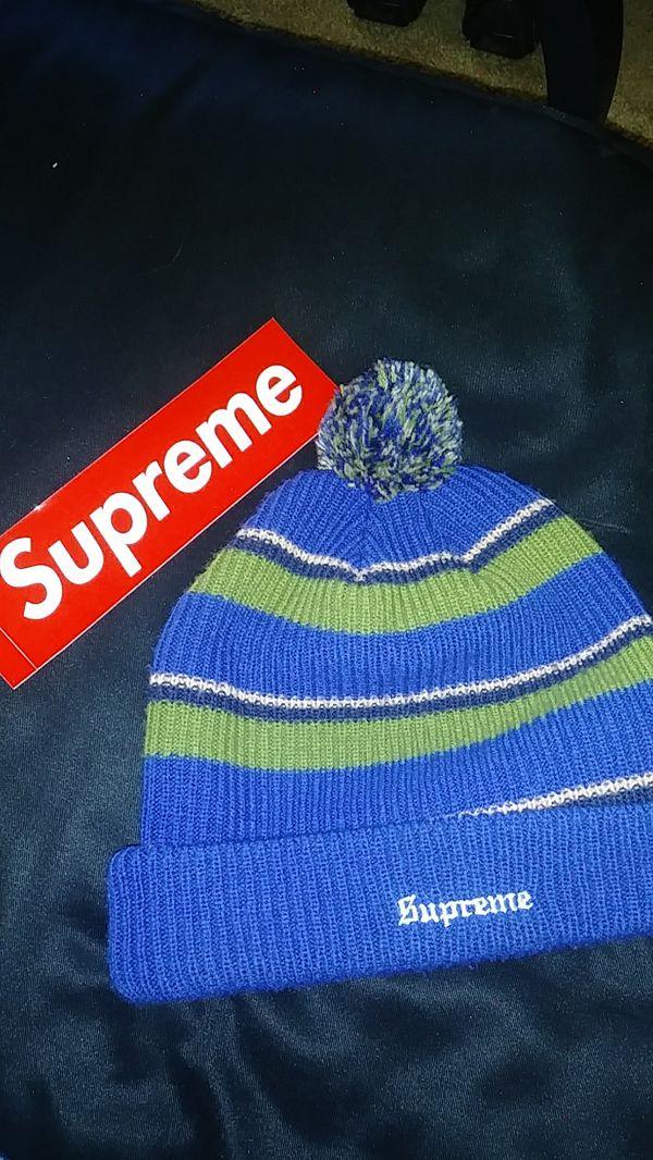 46b2cddfb36 Supreme big stripe blue green for Sale in Brazoria