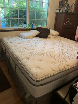 King pillow top for Sale in Lacey, WA