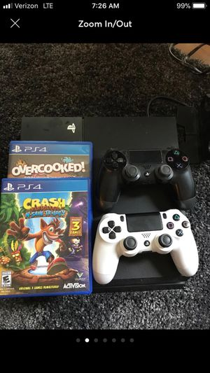 Used, PlayStation 4 Console with extras for sale  Wichita, KS