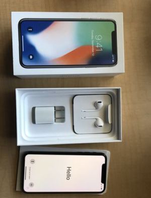 iPhone X 256 GB Mint Condition UNLOCKED for Sale in Sterling, VA