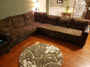 Sectional brown sofa for Sale in Irving, TX