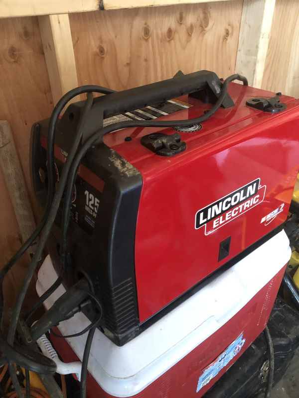 Lincoln 125 amp flux welder for Sale in Macomb, MI - OfferUp