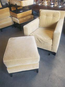 sofa chair and ottoman Thumbnail