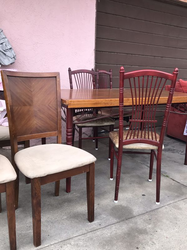 Kitchen table & chairs for Sale in Huntington Park, CA ...