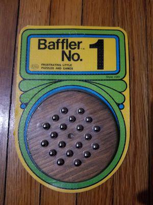 Vintage Baffler No. 1 Reiss Wooden Game Puzzle for Sale in Pasadena, TX