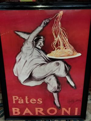 Framed poster by Leonetto Cappiello for Sale in Victoria, VA