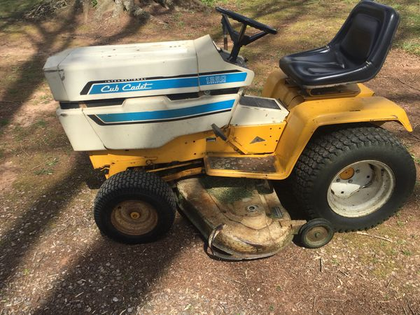 Cub Cadet 1250 lawn tractor mower one owner for Sale in Statesville, NC -  OfferUp