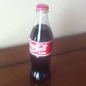 Collectible Coca Cola Glass Bottle From Israel for Sale in Los Angeles, CA